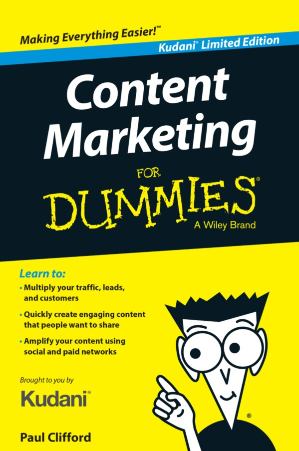 Bìa sách Content marketing for Dummies